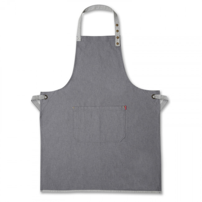 Grey Denim Bib Apron
