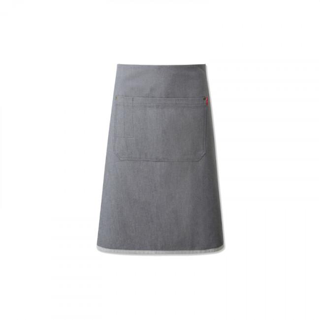 Grey Denim Waist Apron