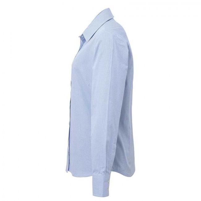 Light Blue/White Gingham Blouse