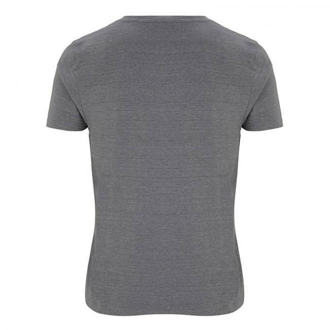 Mens Melange Grey T-Shirt
