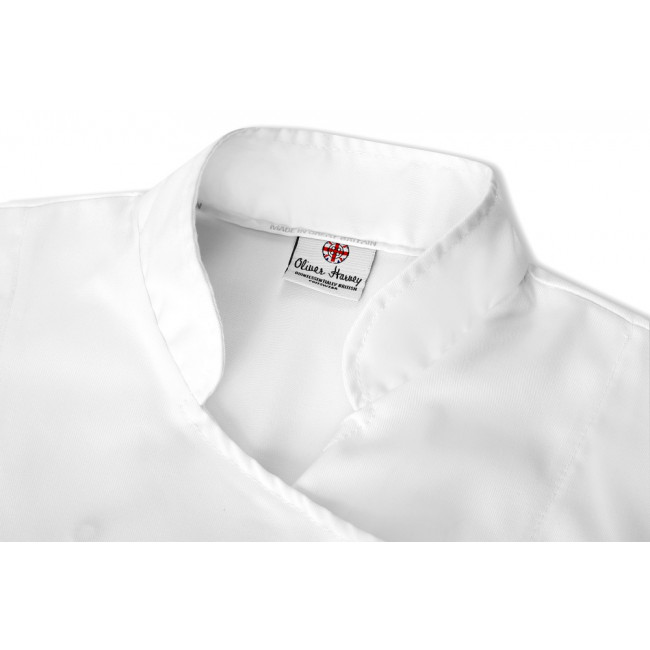 The York Ladies Short Sleeved Chef Jacket