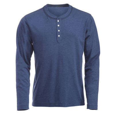 Mens Blue Melange T-Shirt
