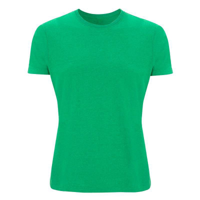 Mens Melange Green T-Shirt
