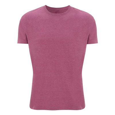 Mens Melange Plum T-Shirt
