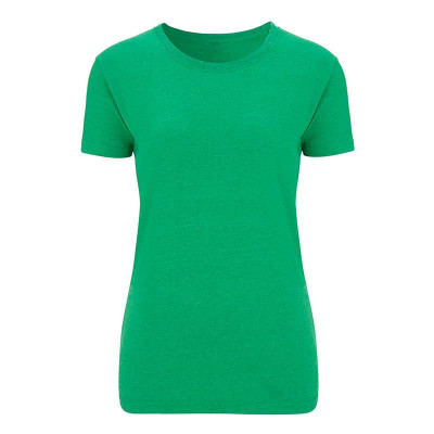 Womens Melange Green T-Shirt