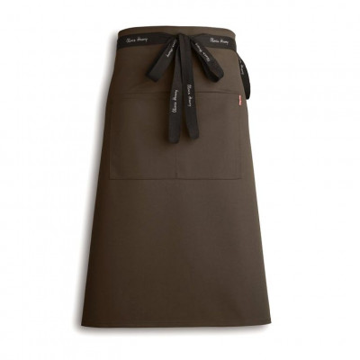 Brown Waist Apron
