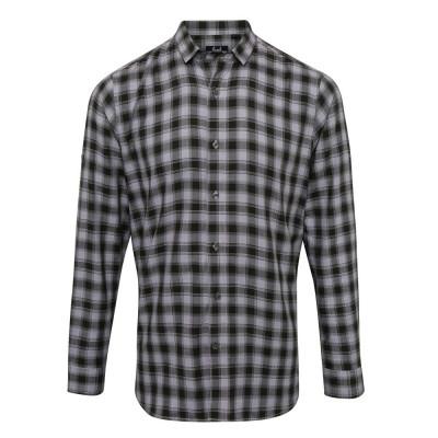 Steel/Black Check Shirt
