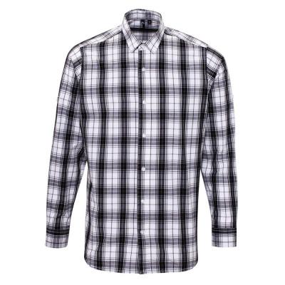 Black/White Check Shirt