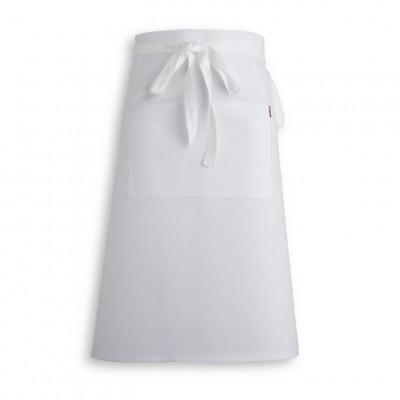 White Waist Apron