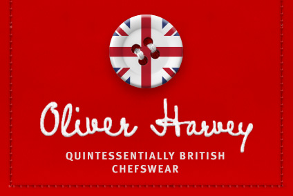 Oliver Harvey - Quintessentially British Chefswear